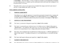 13+ sports coach contract example templates  docs, word  examples cricket player contract template