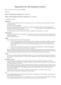 13+ sports coach contract example templates  docs, word  examples sports coaching contract template