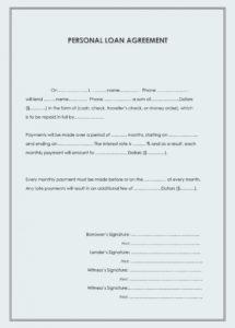 40+ free loan agreement templates word & pdf template lab borrowing money agreement template