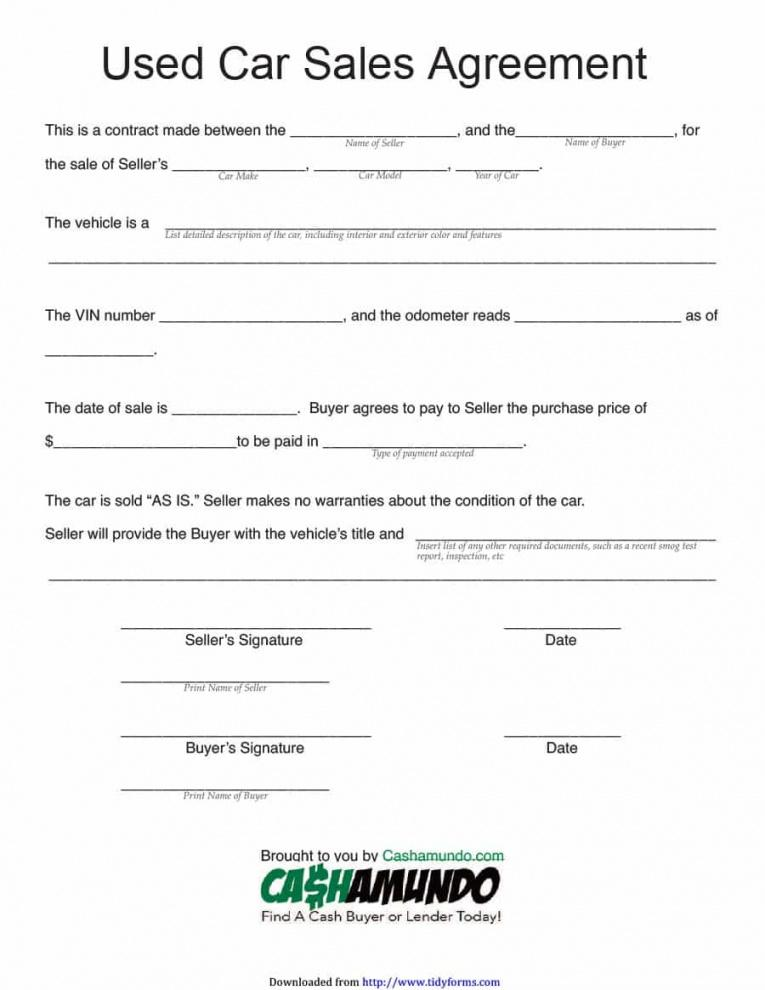 42 printable vehicle purchase agreement templates  template lab car buying contract template