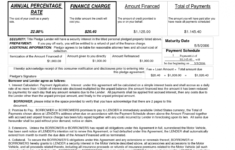 car loan agreement template personal driver contract sample