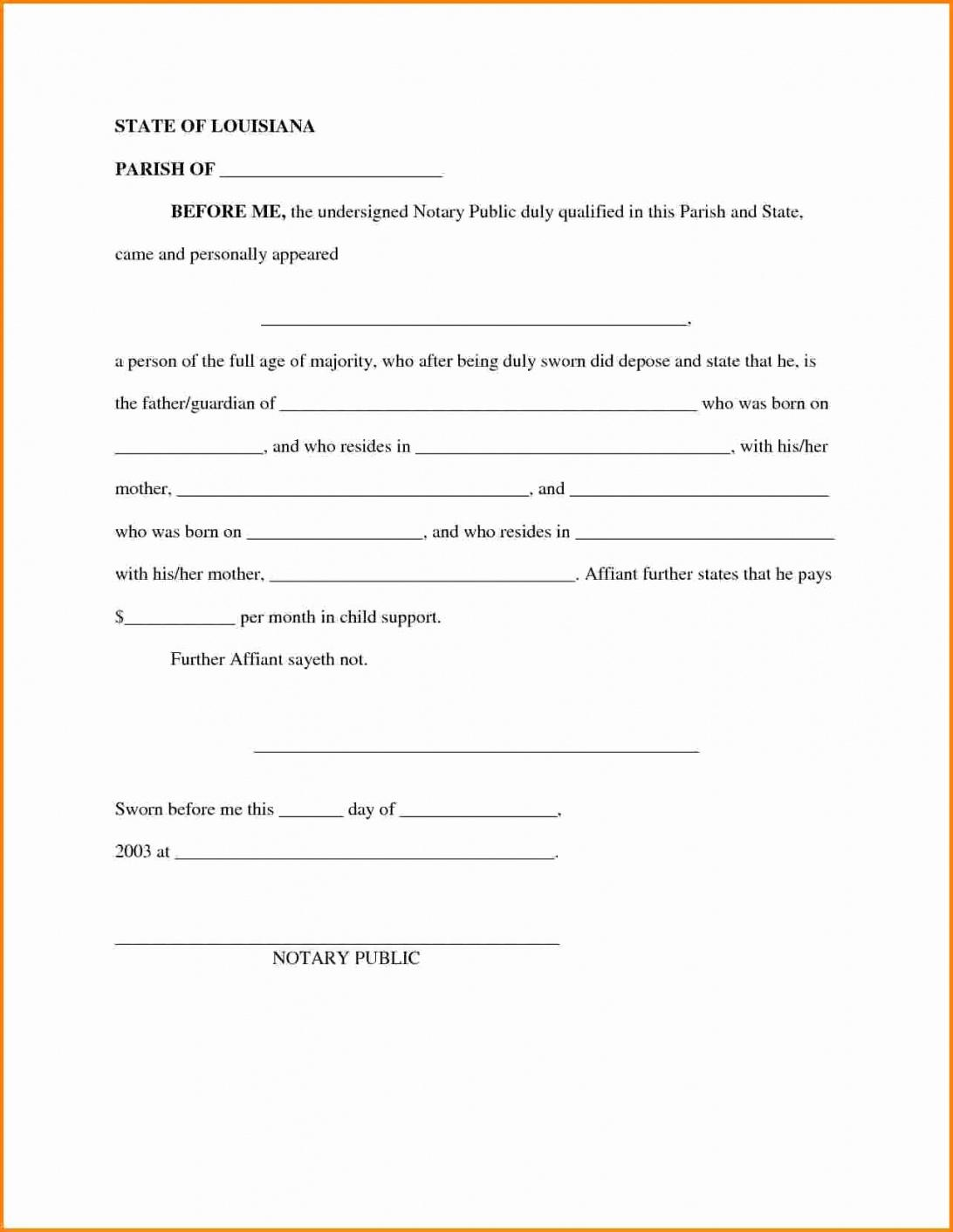 child support letter of agreement template download notarized child support agreement sample