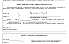 consent to mortgage agreement for by ayw16199  private mortgage mortgage contract agreement