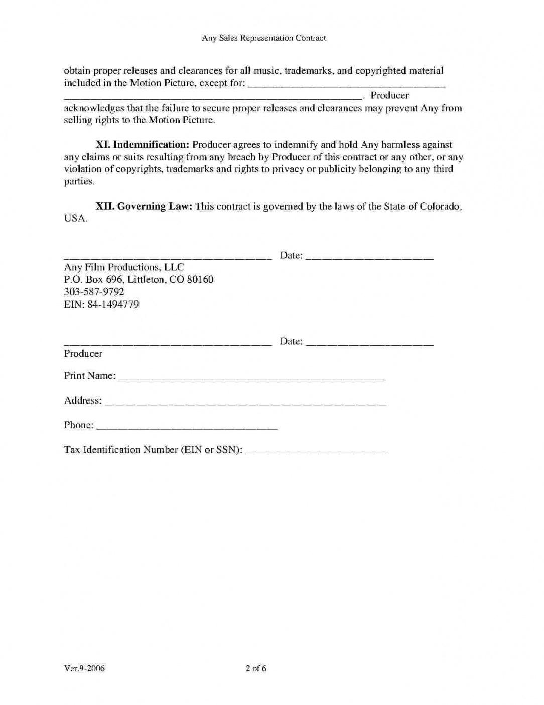 download movie production agreement style 3 template for free at film production agreement contract template