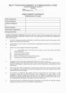 film investment contract template film investment contract template
