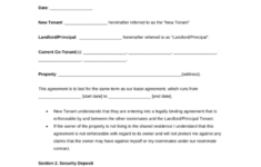 free roommate (room rental) agreement template  pdf  word  eforms room rental agreement contract