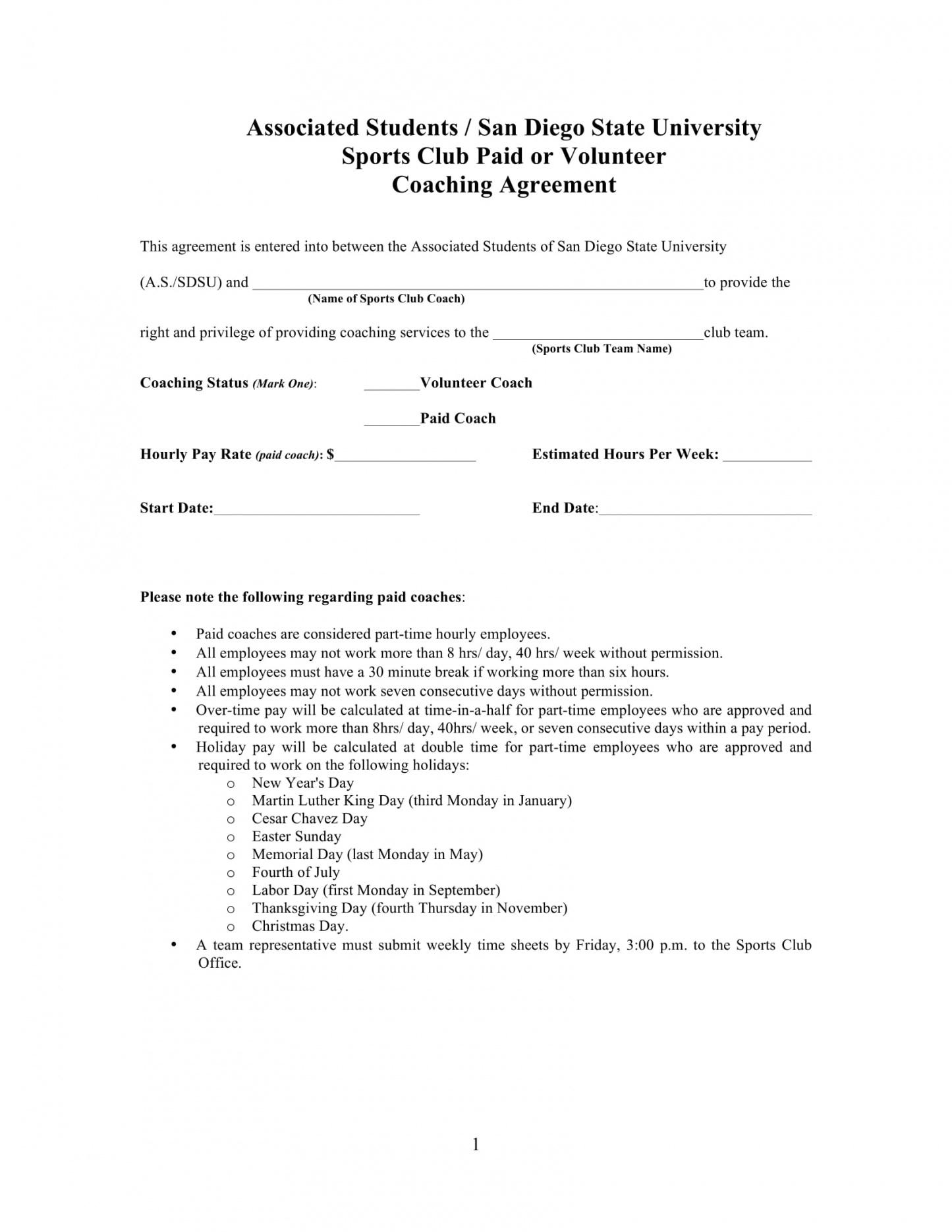 here the 13+ sports coach contract example templates  docs, word  examples cricket player contract template