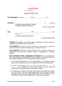 here the 13+ sports coach contract example templates  docs, word  examples sports coaching contract template