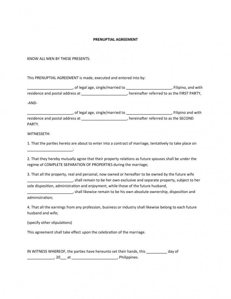 Stipulation Agreement Template