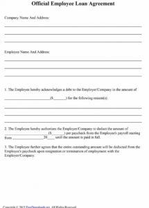 here the 40+ free loan agreement templates word & pdf template lab borrowing money agreement template