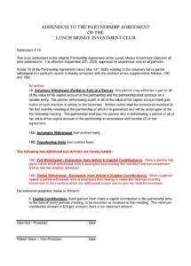 here the download partnership agreement style 39 template for free at partnership withdrawal agreement template