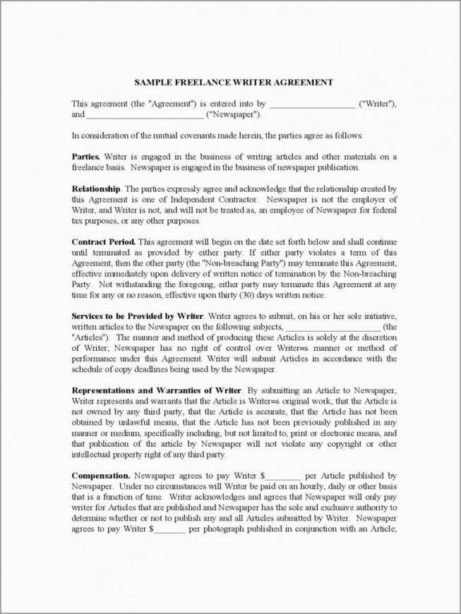 here the freelance agreement template free unique freelance writer contract freelance writing contract template