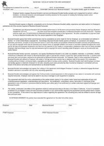here the hd picture of musician work for hire agreement template  malatestas vocalist contract template