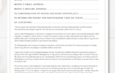 here the printable photography contract, model release, permission form engagement photography contract template