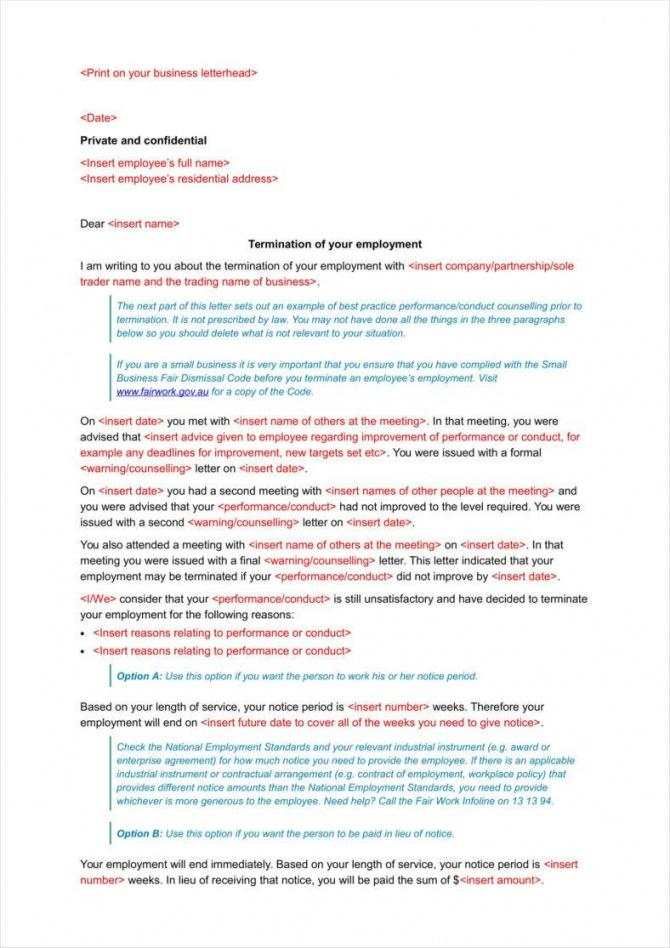 here the sample letter of termination services 9 company letters free samples counselling contract agreement