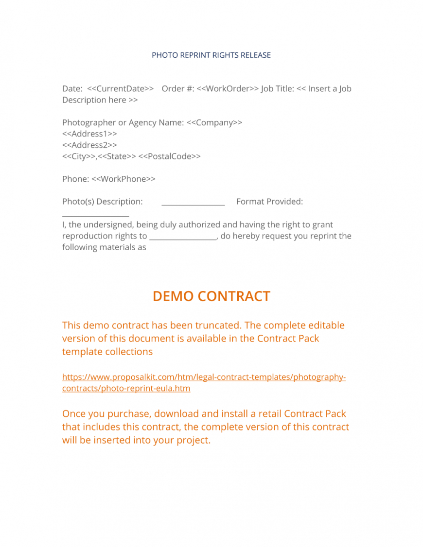 here the view photo reprint rights agreement  photography service/product aerial photography contract template