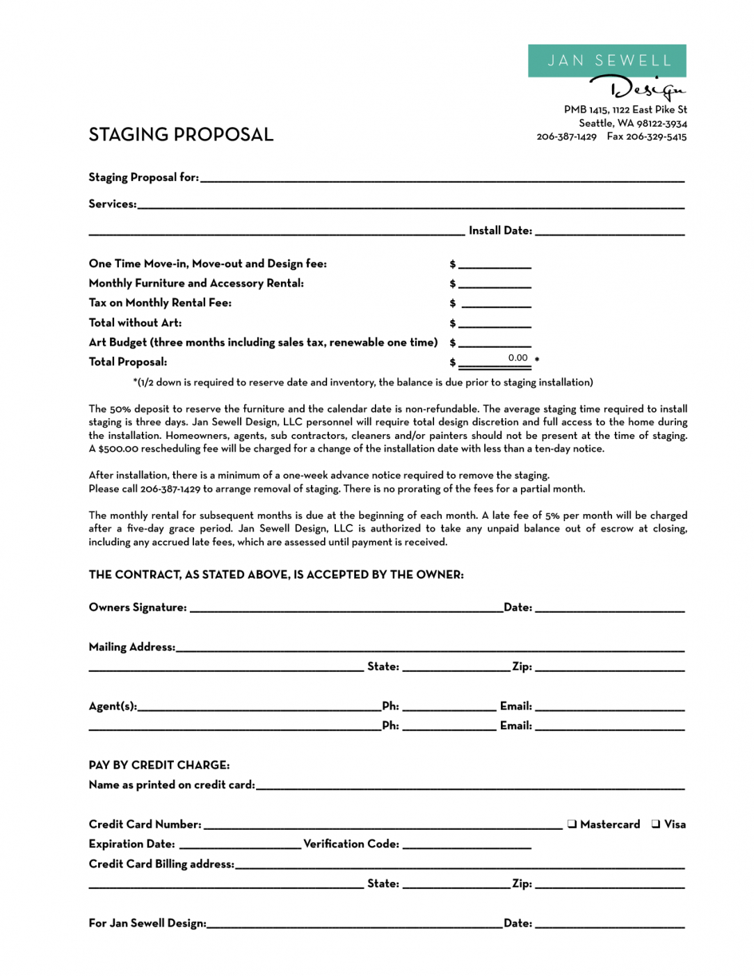 home staging contract template  bing images  stg in 2018 home staging contract template