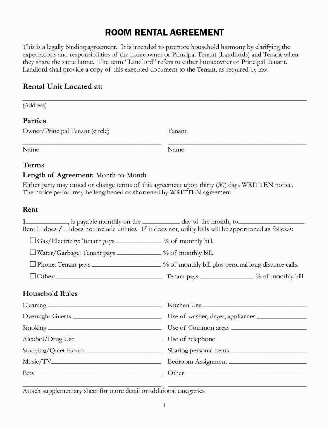 our 004 house rental contract template free unique blank agreement pdf home rental agreement contract