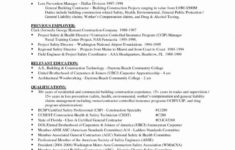 our contractor resume template  ownforum building demolition contract template