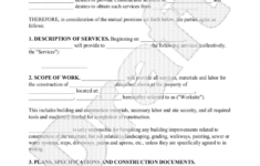 our demolition contract forms is demolition contract forms any building demolition contract template