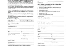 our free printable building contract template #868  ocweb building demolition contract template