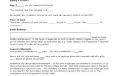 our nanny contract template  nanny agreement template  nanny part time nanny contract template