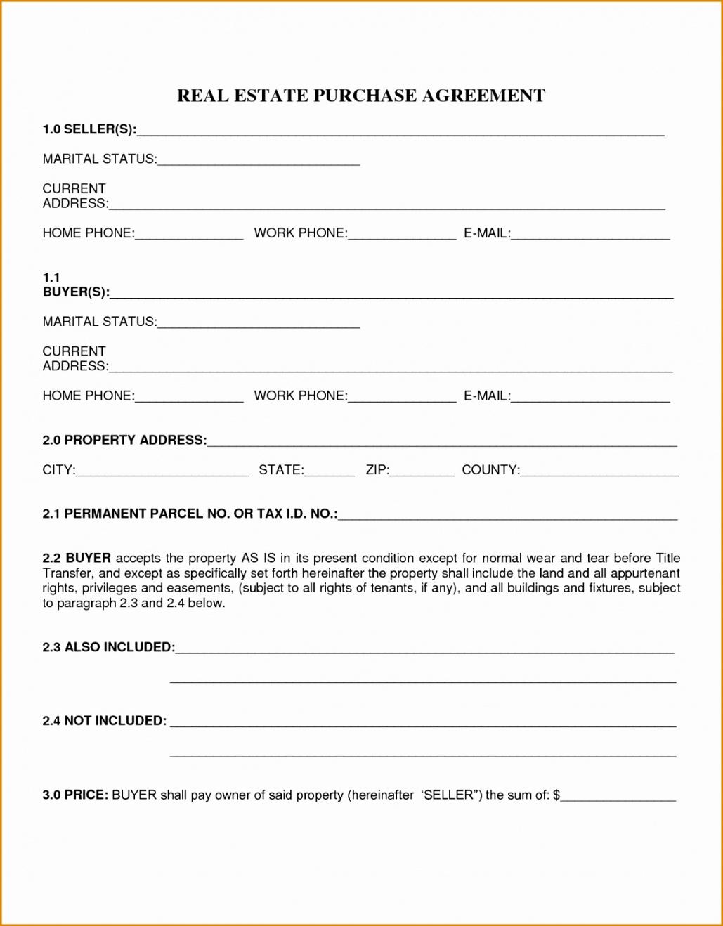 purchase agreement for house  gtld world congress home ownership contract template