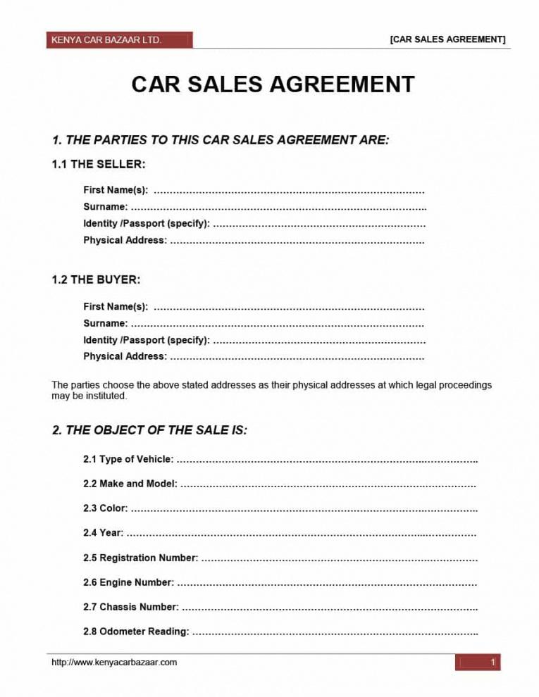 this is the 42 printable vehicle purchase agreement templates  template lab car buying contract template