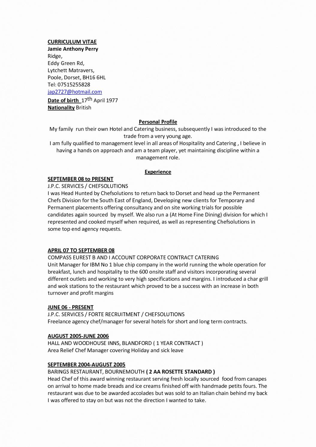 this is the 59 unique collection of chef de partie resume sample weimarnewyork head chef