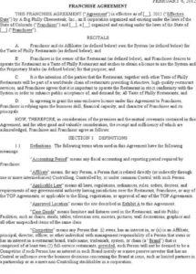this is the franchise agreement in india  aprilmydearestco termination of franchise agreement sample