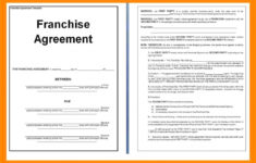 this is the franchise agreement sample  hashtag bg simple franchise agreement sample