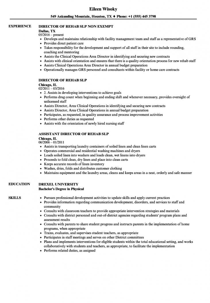 this is the slp resume  elitamydearestco speech therapy contract template