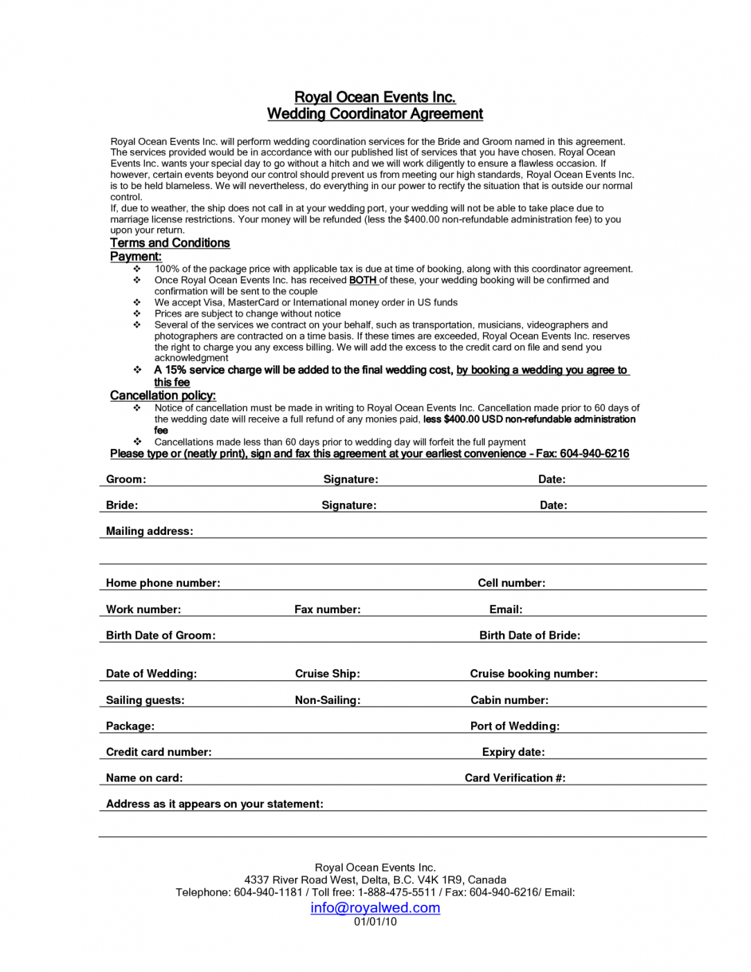 this is the wedding planner contract sample templates  life hacks  event event organizer contract sample