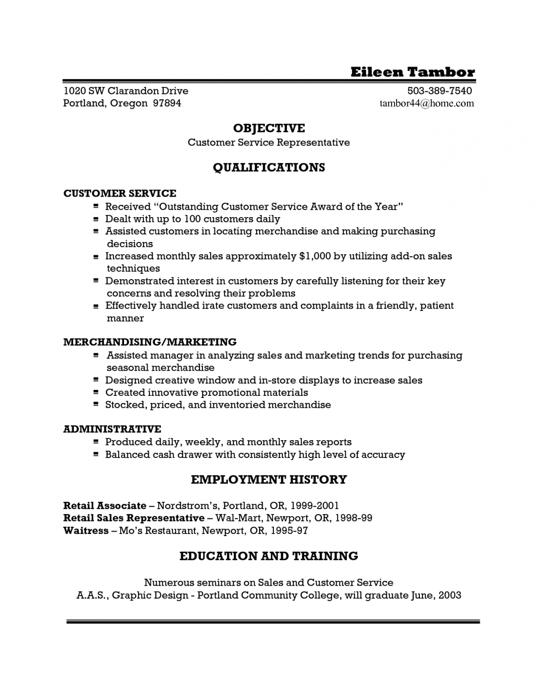 waitress resume example template for doc server samples jpc job waiter contract template