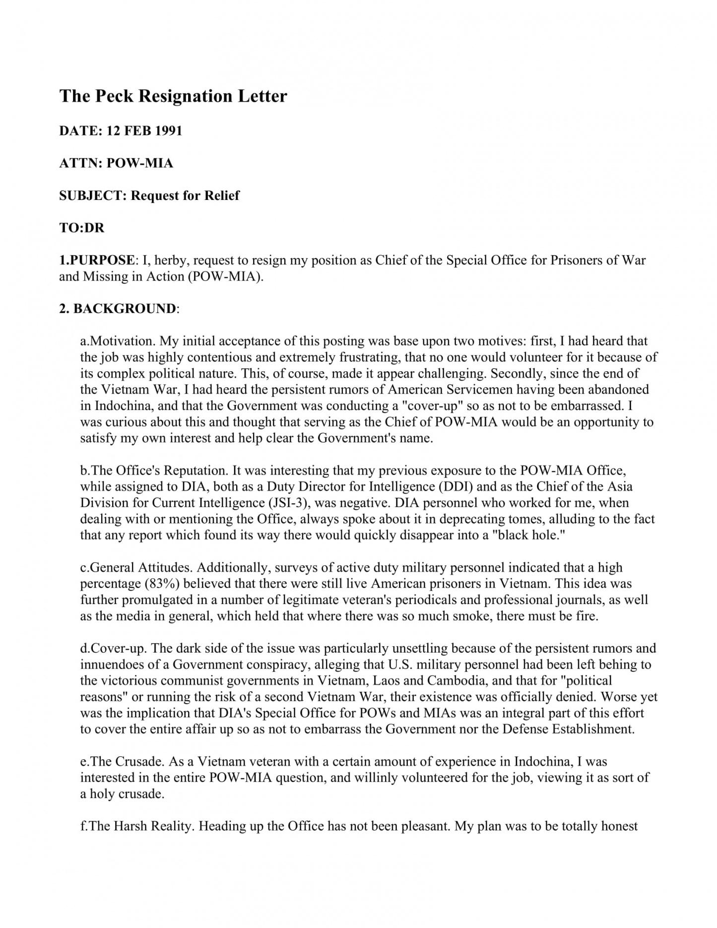17+ free resignation letter  pdf, doc  examples army officer resignation letter template