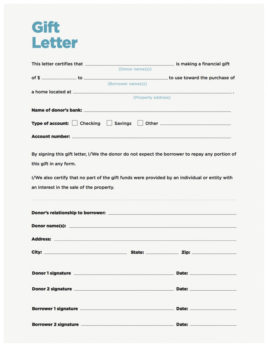 editable 018 gift money can meet your down payment needs nerdwallet letter car gift letter template pdf