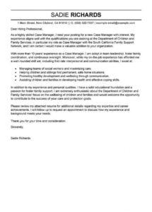 editable best case manager cover letter examples  livecareer case manager cover letter template