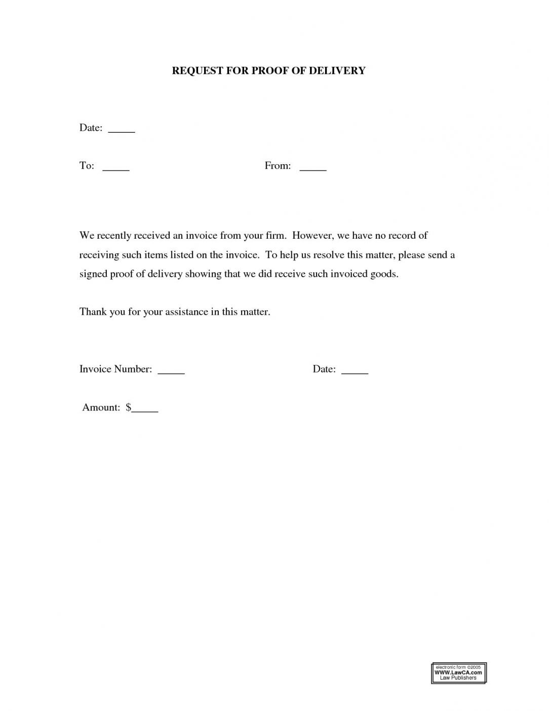 editable delivery confirmation form template heritage spreadsheet proof of delivery letter