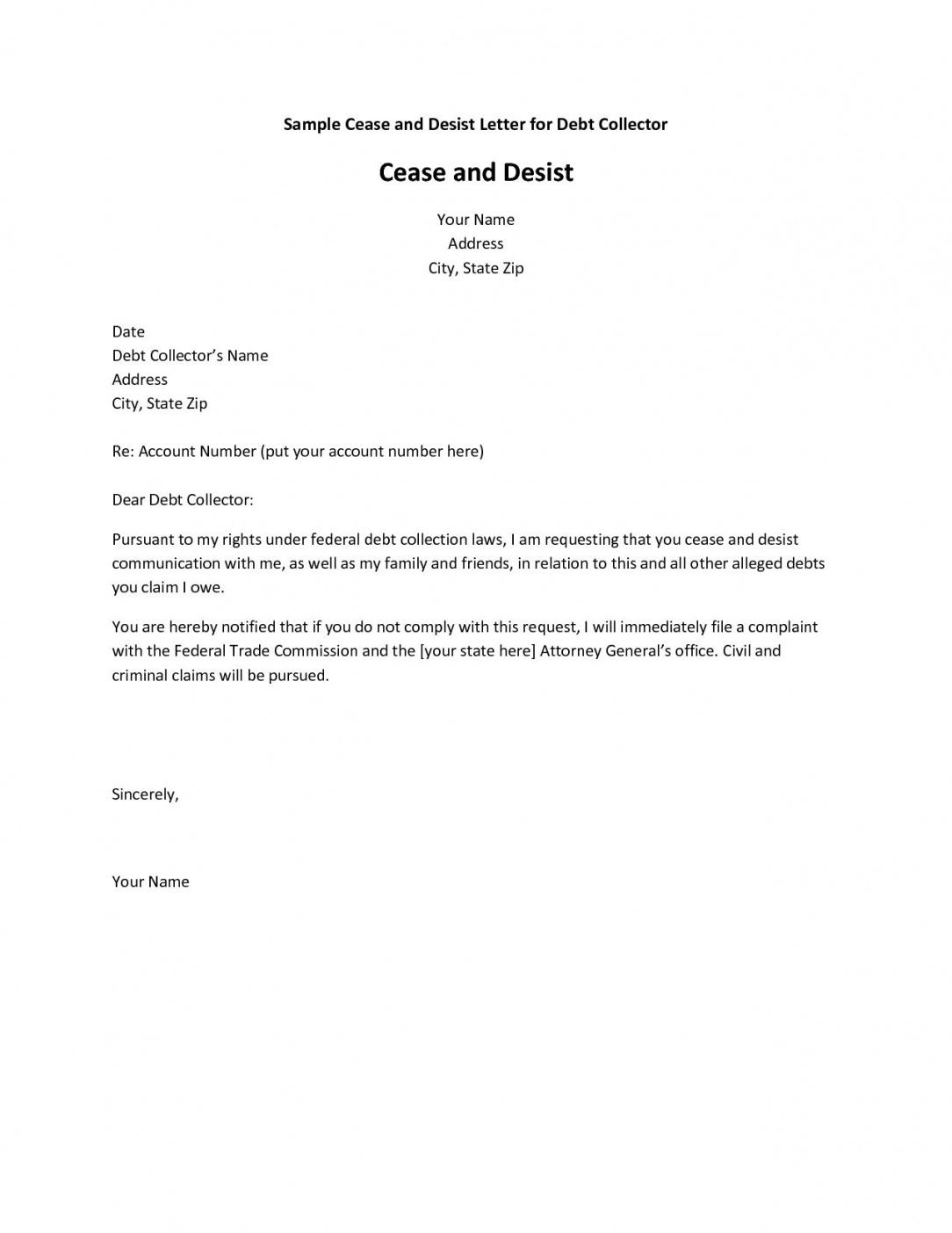 Editable Dispute Letter Template Collection Agency Write The