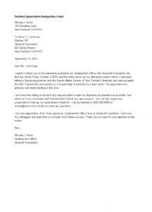 editable free detailed appreciative resignation letter  templates at appreciative resignation letter template pdf