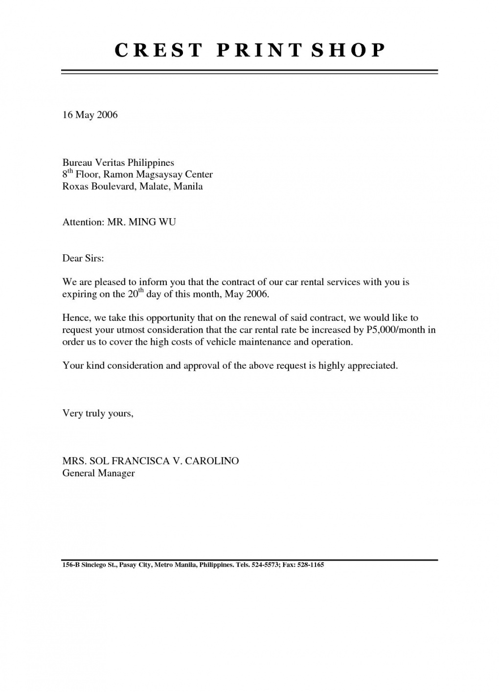 editable insurance renewal letter template samples  letter template collection vehicle service reminder letter template doc