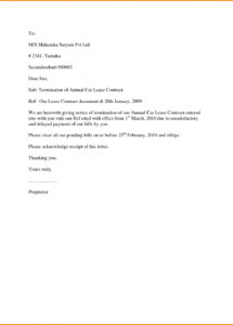 editable tenancy notice letter template gallery tenancy notice letter template doc