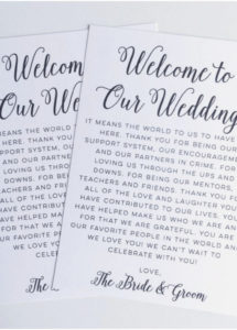 editable wedding welcome bag letter template collection  letter template destination wedding welcome letter template doc