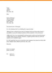 free forced resignation letter sample  scrumps involuntary resignation letter template doc