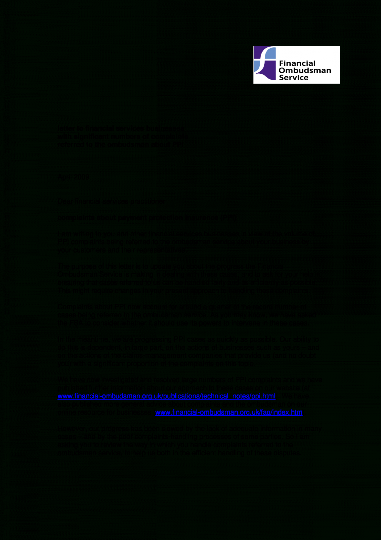 free free professional business complaint letter  templates at financial ombudsman complaint letter template