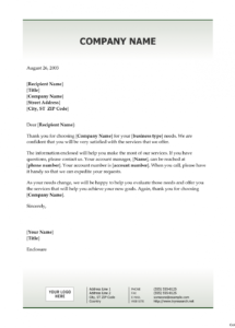 free new client welcome letter template download new client welcome letter template doc