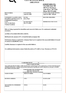 here the 005 construction bid template residential contract free ~ ulyssesroom house demolition contract template