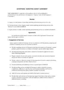 here the acffafaefa digital marketing contract template unique sample resume television advertising contract agreement