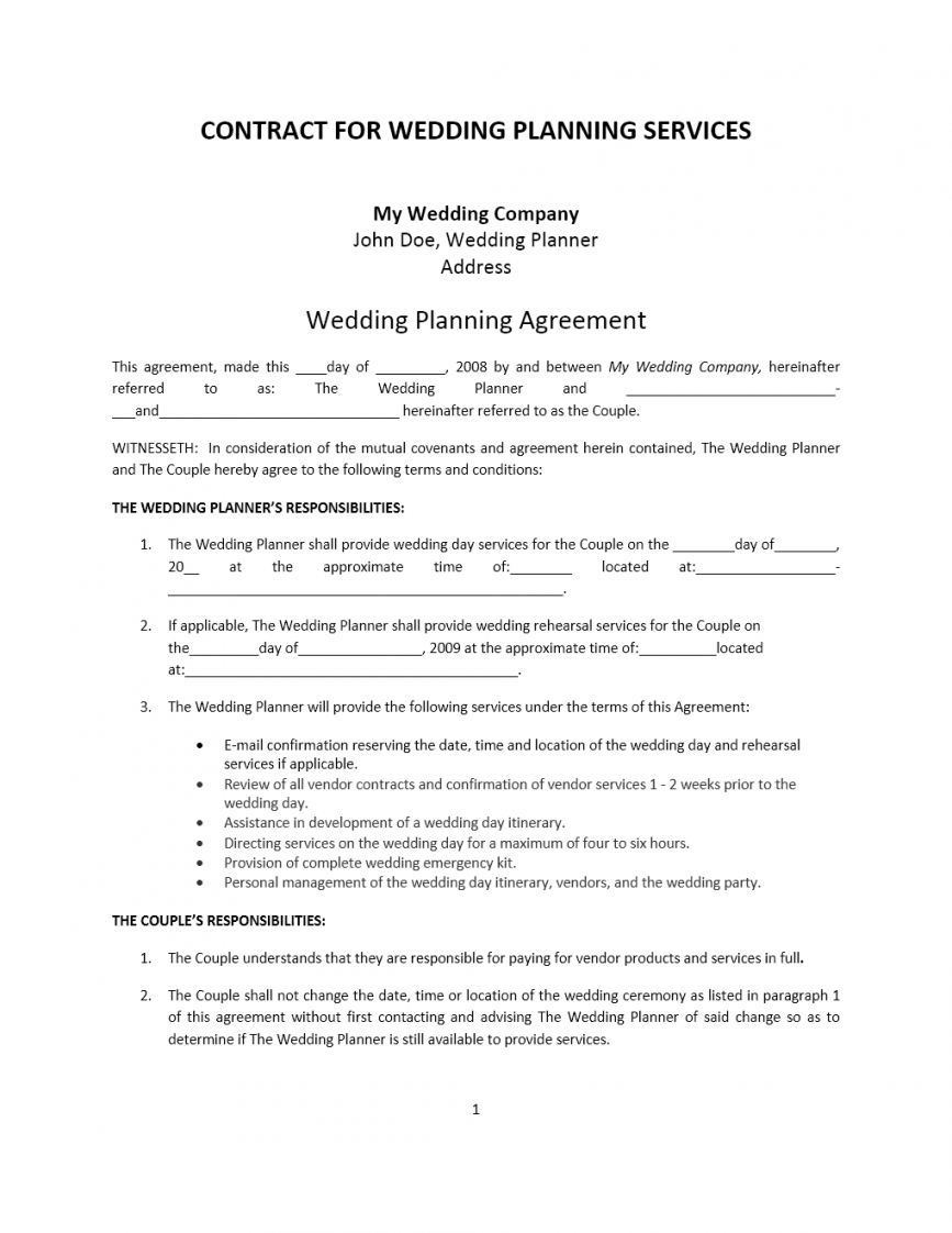 here the agreement archives  freewordtemplates event management contract agreement sample