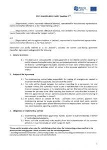 partnership profit sharing agreement template  templates #23977 partnership profit sharing agreement template